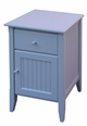 One Drawer Nightstand with Door