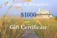 One Thousand Dollar Gift Certificate