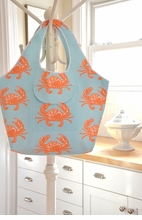 Orange Crab Tote