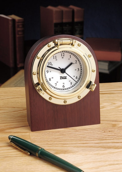 Porthole Desk Clock