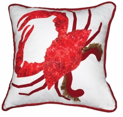 Red King Crab Indoor Pillow<font color=a8bb35> NEW</font>