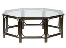 Regeant Octagonal Coffee Table in Clove or Nutmeg