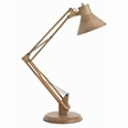 Reid Wood/Iron Adjustable Desk Lamp