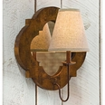 Relic Pointed Quatrefoil Mirror Sconce