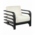 Reo Lounge Chair in Chocolate or Natural