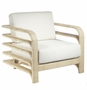 Reo Lounge Chair in Natural or Chocolate