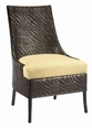 Riva Rattan Dining Chair in Brown or White