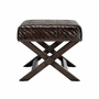 Riva Rattan Stool in Brown or White