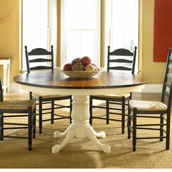 Round Cottage Dining Table <font color=a8bb35> NEW</font>