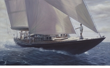 Run The Wind - Endeavour Giclee