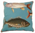 Saltwater Fish Needlepoint I 20 x 20