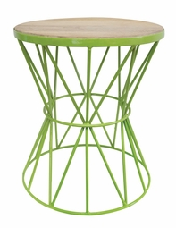 Santa Monica Table in Green<Font color=a8bb35> NEW</font>
