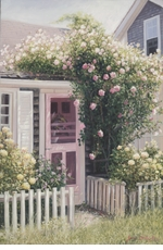 Sconset Cottage #1 - Nantucket Giclee