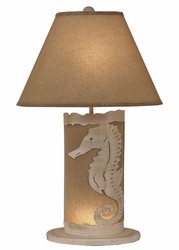 Seahorse Scene Panel with Nightlight Lamp <font color=a8bb35> NEW</font>