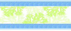 Seaweed Table Runner <font color=a8bb35> NEW</font>
