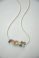 Seed Pearl and Gemstone Necklace