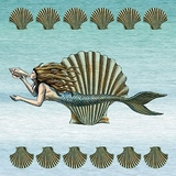 Set of Two Mermaid Trivets