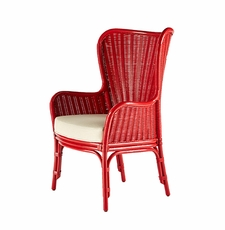 Sheridan Rattan Wing Chair