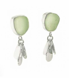 Shimmer Post Drop Earrings<font color=a8bb35> NEW</font>