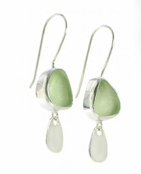 Shimmer Wire Drop Earrings<font color=a8bb35> NEW</font>