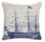 "Ship 22"" Indoor Outdoor Pillow"