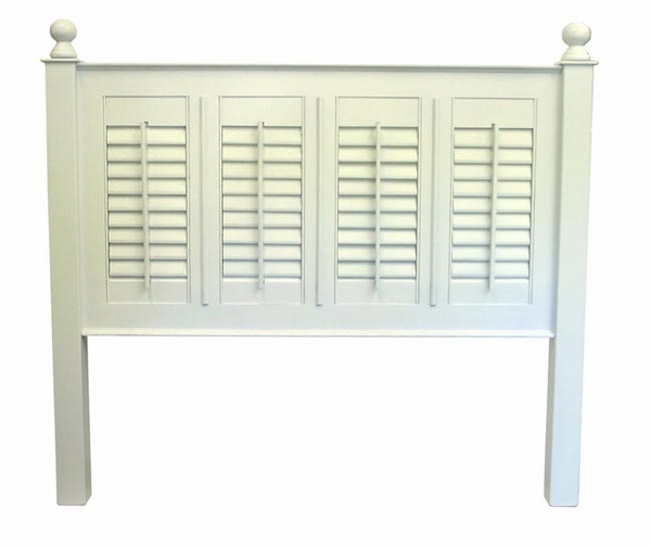 Straight Line Shutter Bed or Headboard in All Sizes