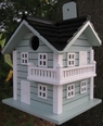 Surf City Beachouse Birdhouse<font color=a8bb35> NEW </font>
