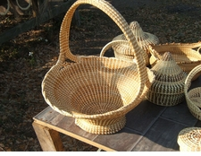 Sweetgrass Big Handle Basket
