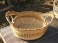 Sweetgrass Loop Basket with Love Knots