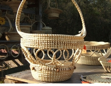 Sweetgrass  Open Weave with Handle