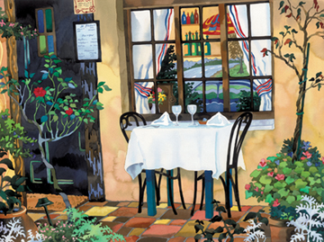 Table For Two Giclee