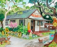 The Aloha House Giclee
