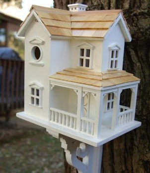 The Olde Prairie Farmhouse Bird Feeder