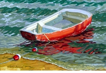The Red Skiff