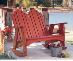 The Spring Lake Two Seater Rocker <font color=a8bb35> NEW</font>