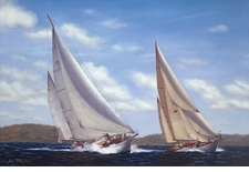 Ticonderoga and Belle Giclee