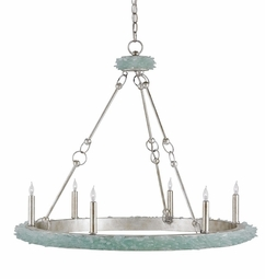 Tidewater Coastal Chandelier <font color=a8bb35> NEW</font>