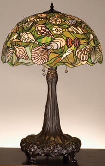 Tiffany Seashell Table Lamp For Sale Cottage Amp Bungalow