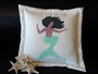 Turquoise Sea Siren Pillow