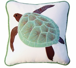 Turtle Indoor Pillow<font color=a8bb35> NEW</font>