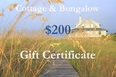 Two Hundred Dollar Gift Certificate