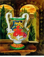 Vase With a View Giclee