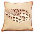 Volute Shell Pillow