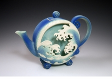 Wave Box Teapot