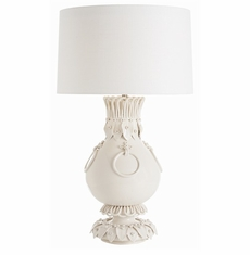 White, Glass & Crystal Table Lamps