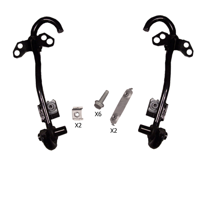 07-10 Compass & 07-15 Patriot Front Tow Hooks