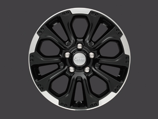 "18"" Black Cast Aluminum Wheel"