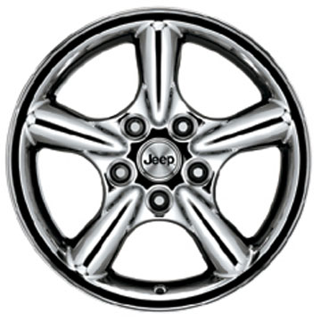 2001-2004 Grand Cherokee Rogue Chrome Wheel
