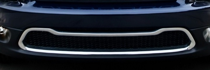 2014-15 KL Cherokee Chrome Front Bumper Accent