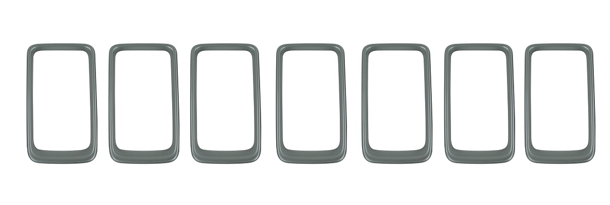 2014-2015 Platinum Grill Rings (Paintable*)